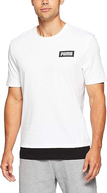 PUMA Rebel tee - Camiseta Hombre: Amazon.es: Deportes y aire libre