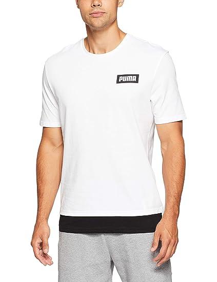 PUMA Rebel Tee Maglietta, Uomo: Amazon.it: Abbigliamento