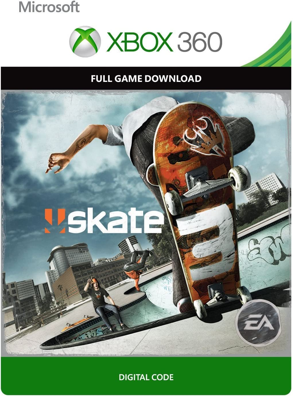 Amazon com: Skate 3 - Xbox 360 Digital Code: Video Games