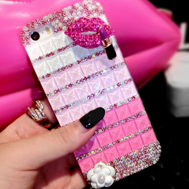 pink case & lips