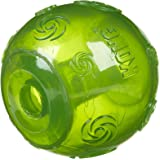 3 MEDIUM Kong Squeezz Squeaky Dog Toy Balls Choice of 4 Colours Red Blue Green and Purple (Red Blue Green)