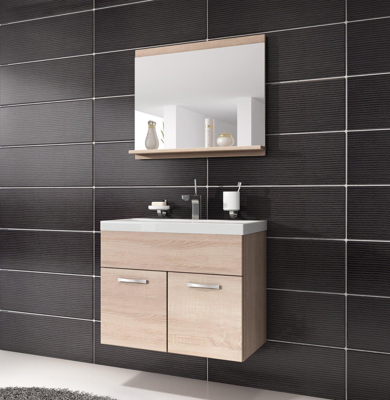 Waschtischkonsole mit schublade  Badezimmer Komplettprogramme | Amazon.de
