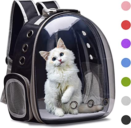 Henkelion Cat Backpack Carrier - The Best Dog Backpack Carrier for Anxious Pups