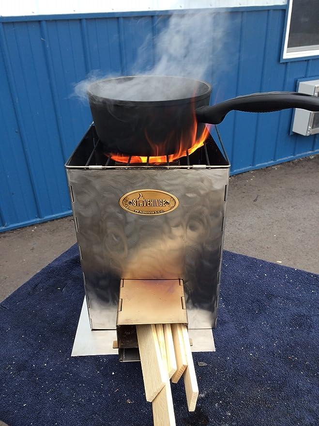 Amazon.com: stovehinge: El Cohete plegable estufa: Sports ...