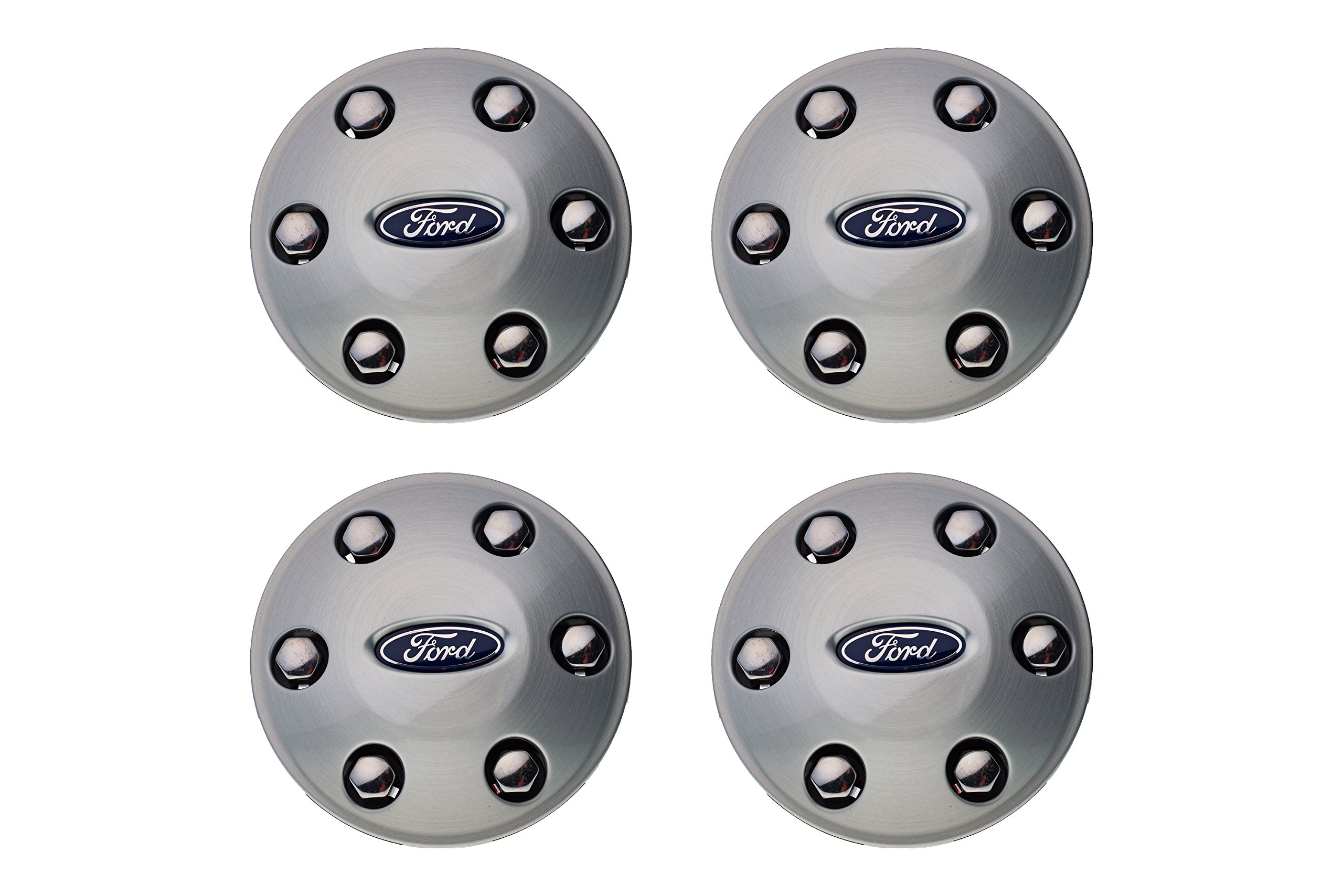 04-14 Ford F-150 17'' 18'' 20'' 6 Lug Aluminum Wheel Hub Cover Center Cap Set OEM