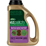 Scotts EZ Patch Lawn Repair For St. Augustine Lawns - 3.75 lb., Ready-to-use Mulch, and Fertilizer Lawn Repair, Repairs St. A