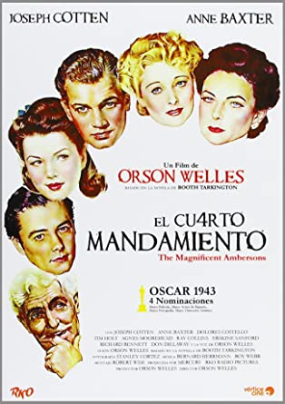 El Cuarto Mandamiento [DVD]: Amazon.es: Joseph Cotten, Dolores ...