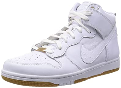 finest selection a91b9 125bc NIKE Mens Dunk CMFT PRM QS White Leather Size 8