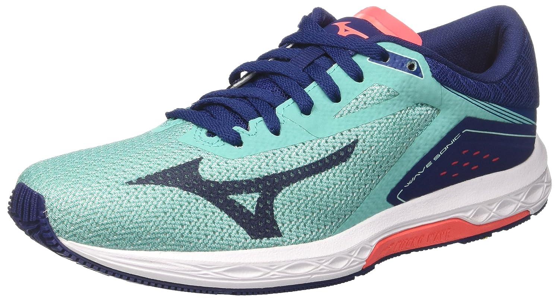 TALLA 37 EU. Mizuno Wave Sonic Wos, Zapatillas de Running para Mujer