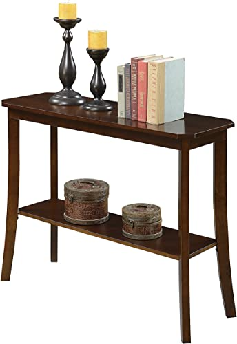 Convenience Concepts Console Table, Espresso