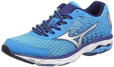 8ebffdd3a0 Mizuno Wave Inspire 11 (w), Chaussures de Running Entrainement Femme - Bleu  (