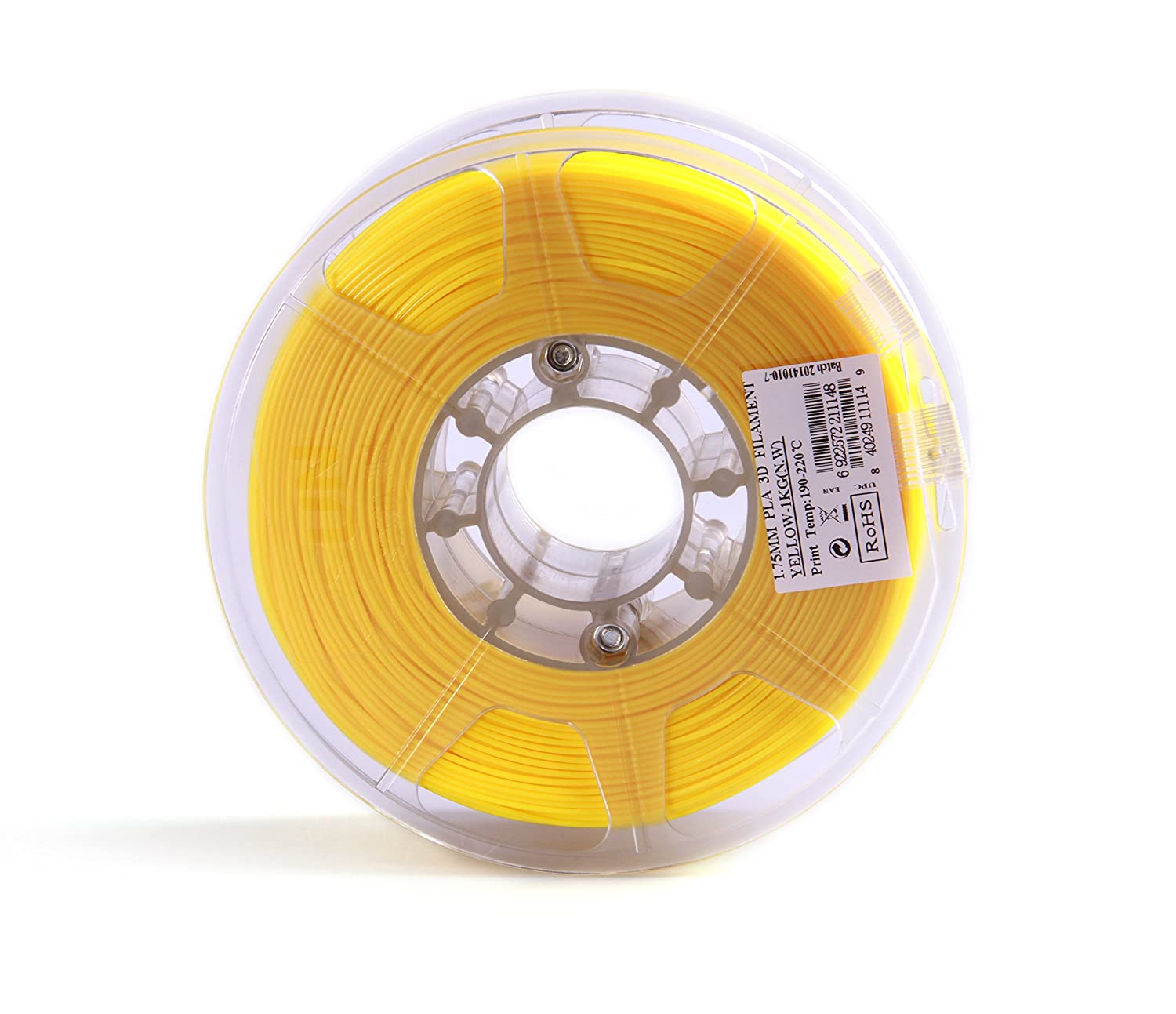 Esun Cartouche de filament PLA - 1,75mm - Jaune - 1 kg: Amazon.es ...