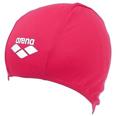 Arena - Polyester rouge bonnet jr - Bonnet de bain