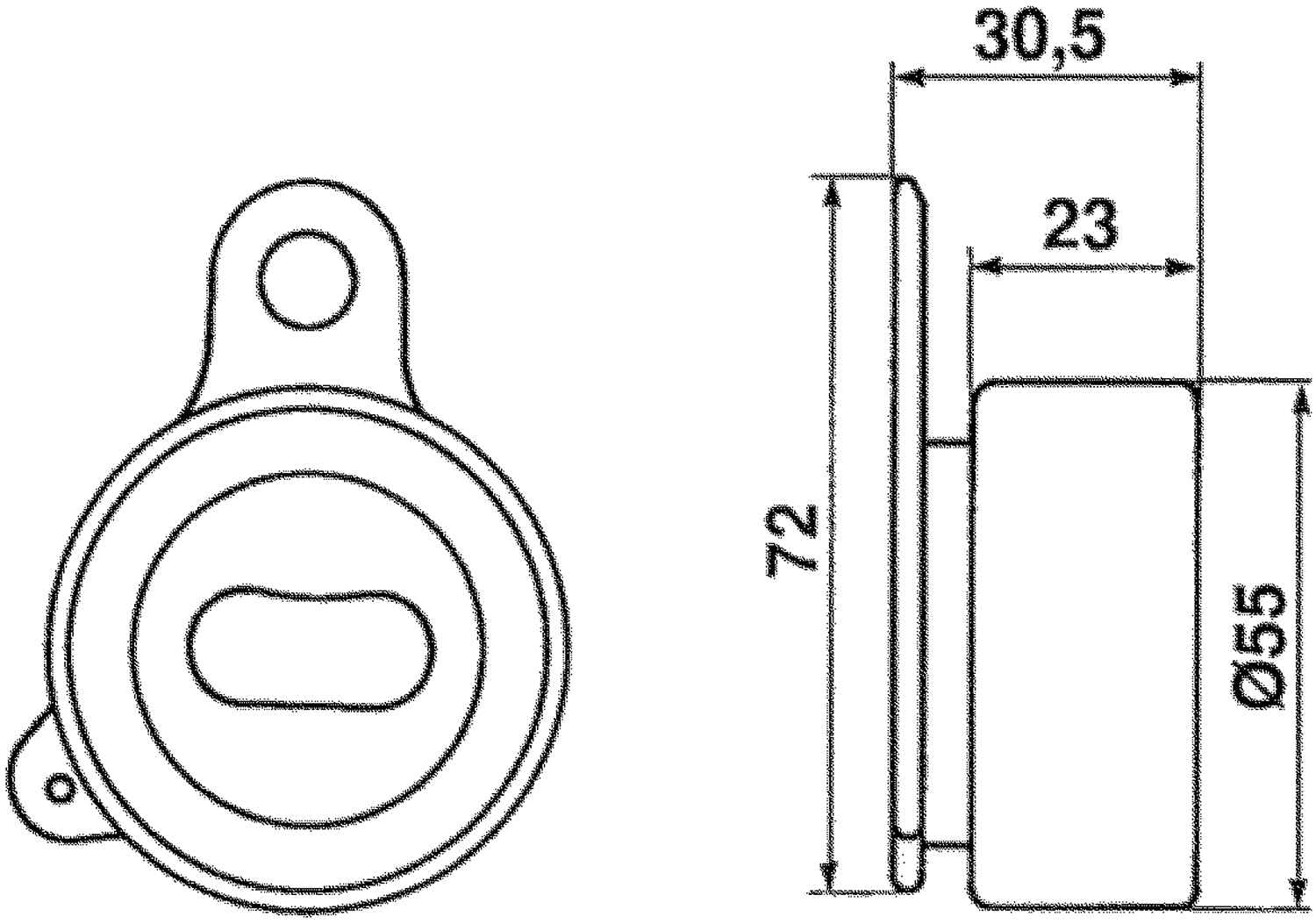 ACDelco T41074 Professional Manual Timing Belt Tensioner