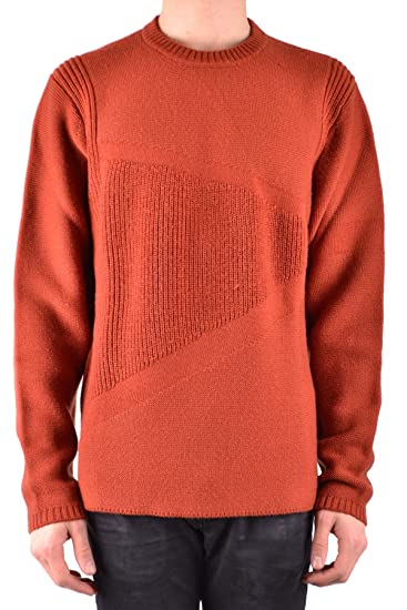 e73fa4f78b48 Paul Smith Men s Mcbi233006o Red Wool Sweater  Amazon.co.uk  Clothing