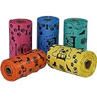 PROPETS Pack de 75 Bolsitas OXO Biodegradables para desechos de Mascota Varios Colores