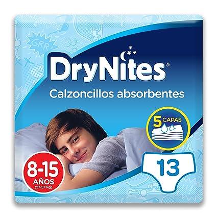 Huggies DryNites, 8-15 años niño, 13 pañales