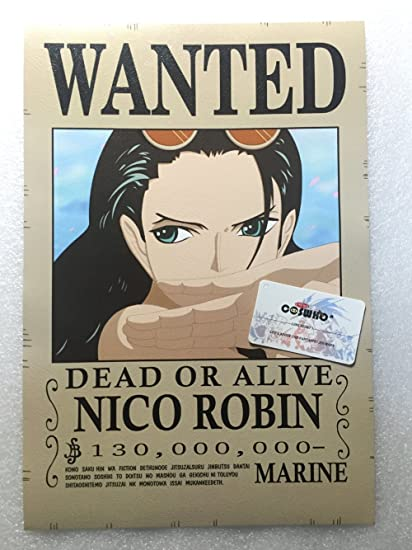 Buy Cosplaywho One Piece Wanted Posters 16 Pcs Online At Low Prices