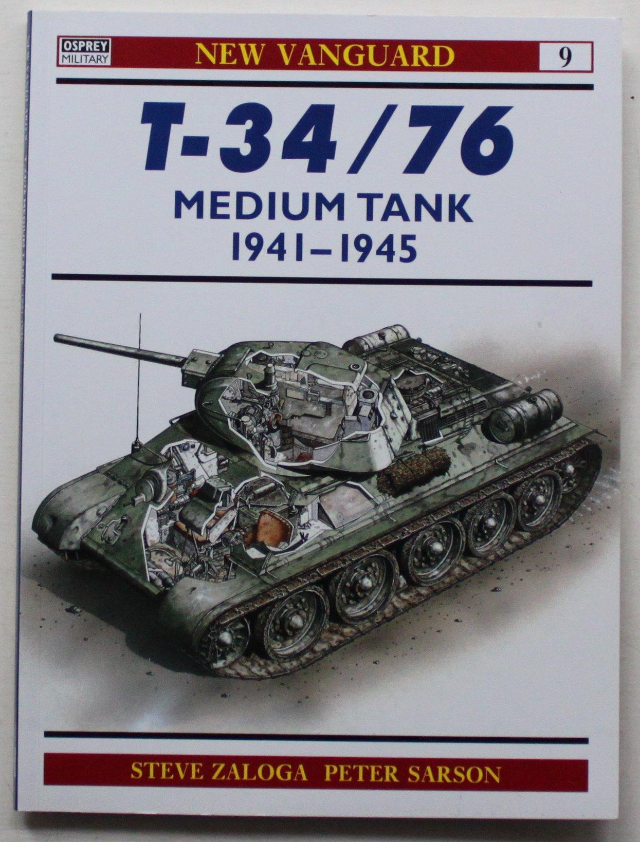 Download New Vanguard 009 - T-34/76 Medium Tank 1941 - 1945 pdf