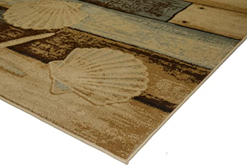 Mayberry Rugs Area Rug, 7 10 x9 10 , Sea Life