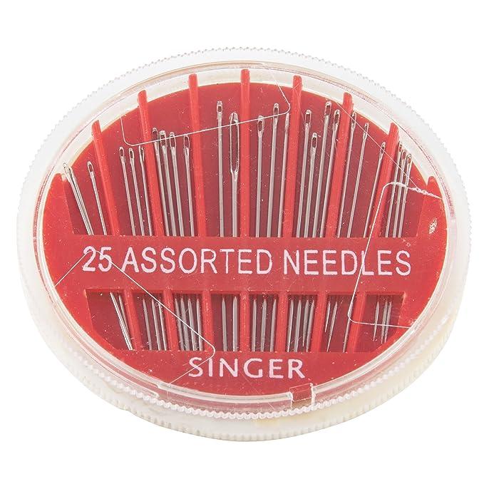 Singer Verschiedene Hand Nadeln in Kompakt 25-Count
