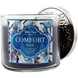 Bath & Body Works Candle 3 Wick 14.5 Oz White Barn Comfort Fireside