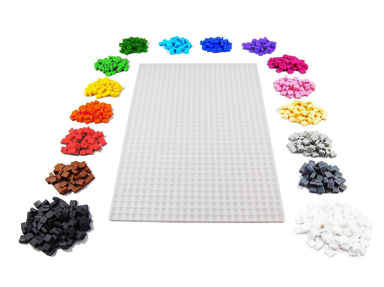 La Manufacture du Pixel - ¡Manualidad Pixel Art, Hobby Creativo, Mosaico, Diversión! - Has tu Propio Arte - Estaño de Colección - Juego de Marco y 900 ...