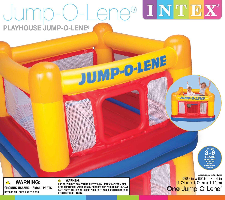 intex inflatable jump o lene ball pit bouncer bounce