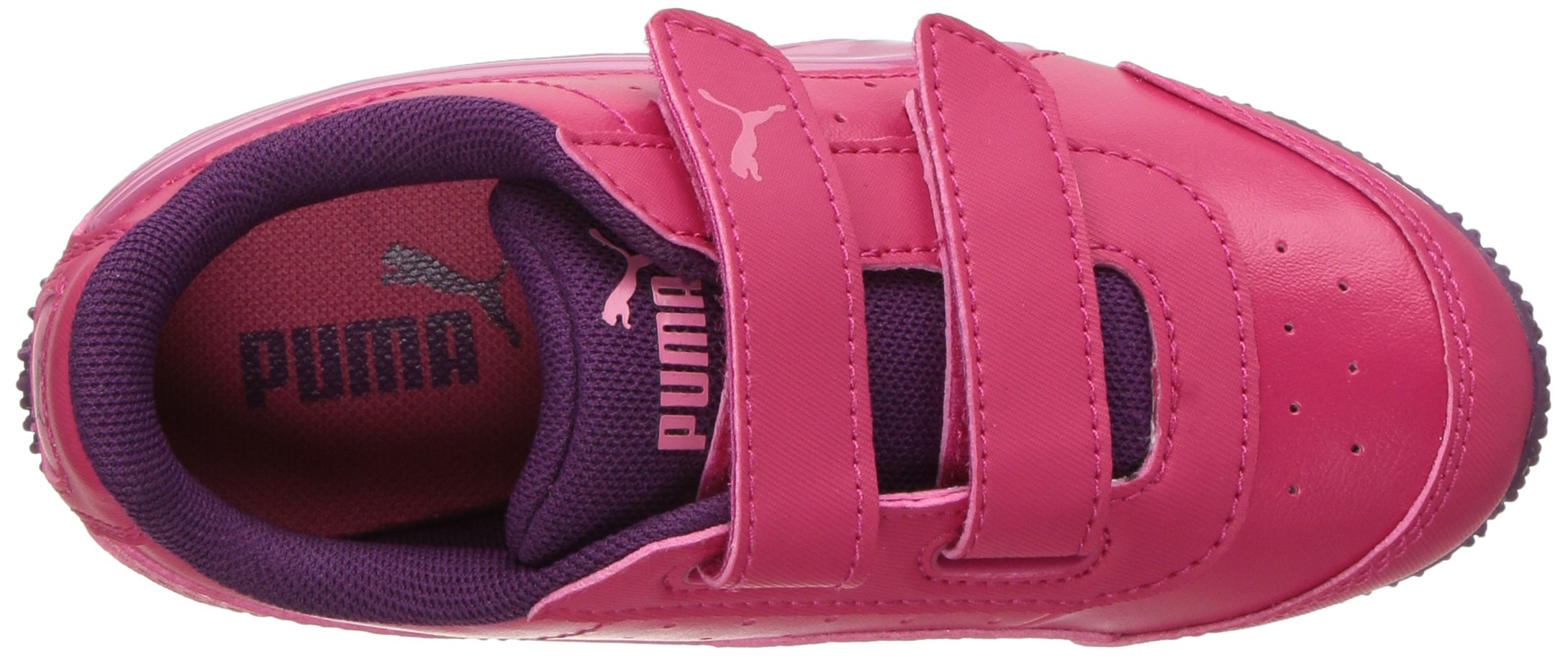 PUMA Baby Speed Lightup Power V Kids Sneaker, Love Potion-Rapture Rose, 5 M US Toddler by PUMA (Image #8)