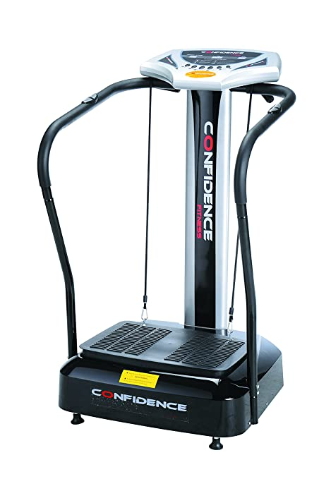 da61790014634 Image Unavailable. Image not available for. Color  Confidence Fitness Slim Full  Body Vibration Trainer Platform Fitness Machine