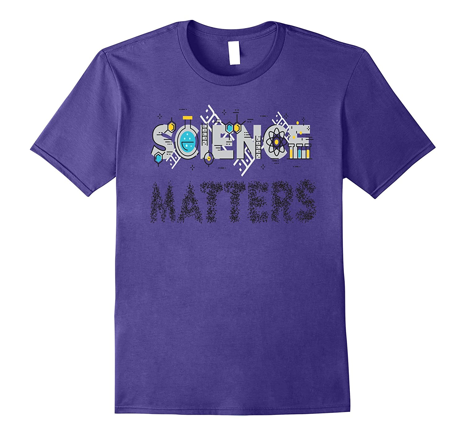 Science T-Shirt SCIENCE MATTERS I Love Science Tee Shirt-Art