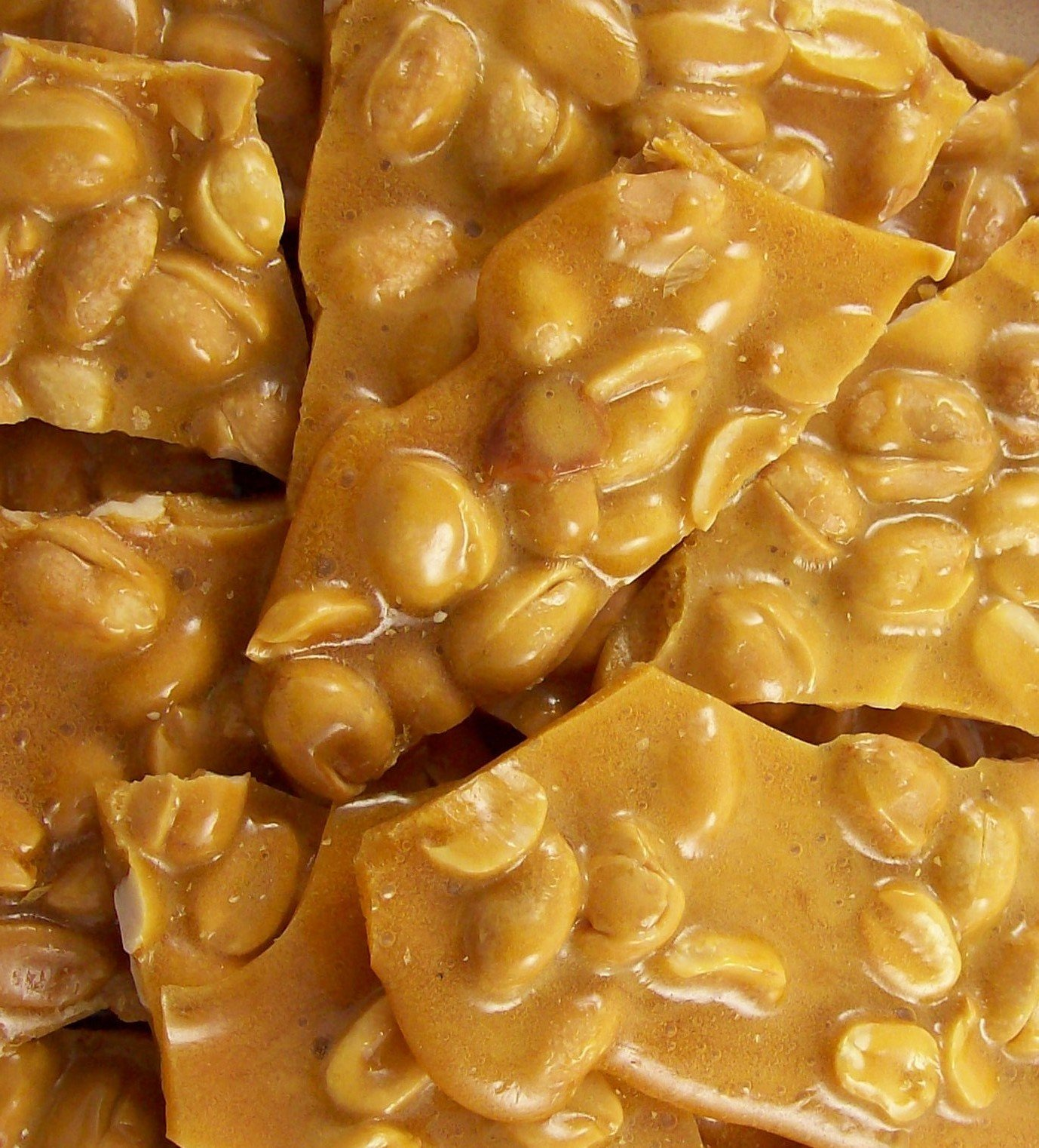Vegan Cashew Brittle 1 HUGE !! Pounds Made Fresh ONLY to order NO BUTTER VEGAN CANDY by The Brittle Box Candy Co.