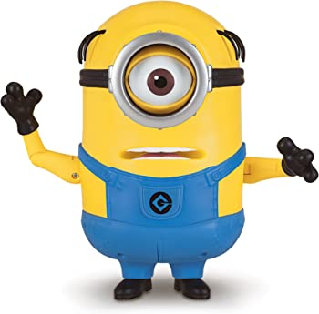 Despicable Me Talking Minion Mel Toy Figure