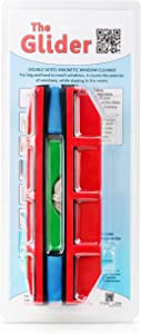 """Tyroler Bright Tools The Glider D-3, Magnetic Window Cleaner for Double Glazed Windows Fit to 0.8""""-1.1"""" Window thickness."""