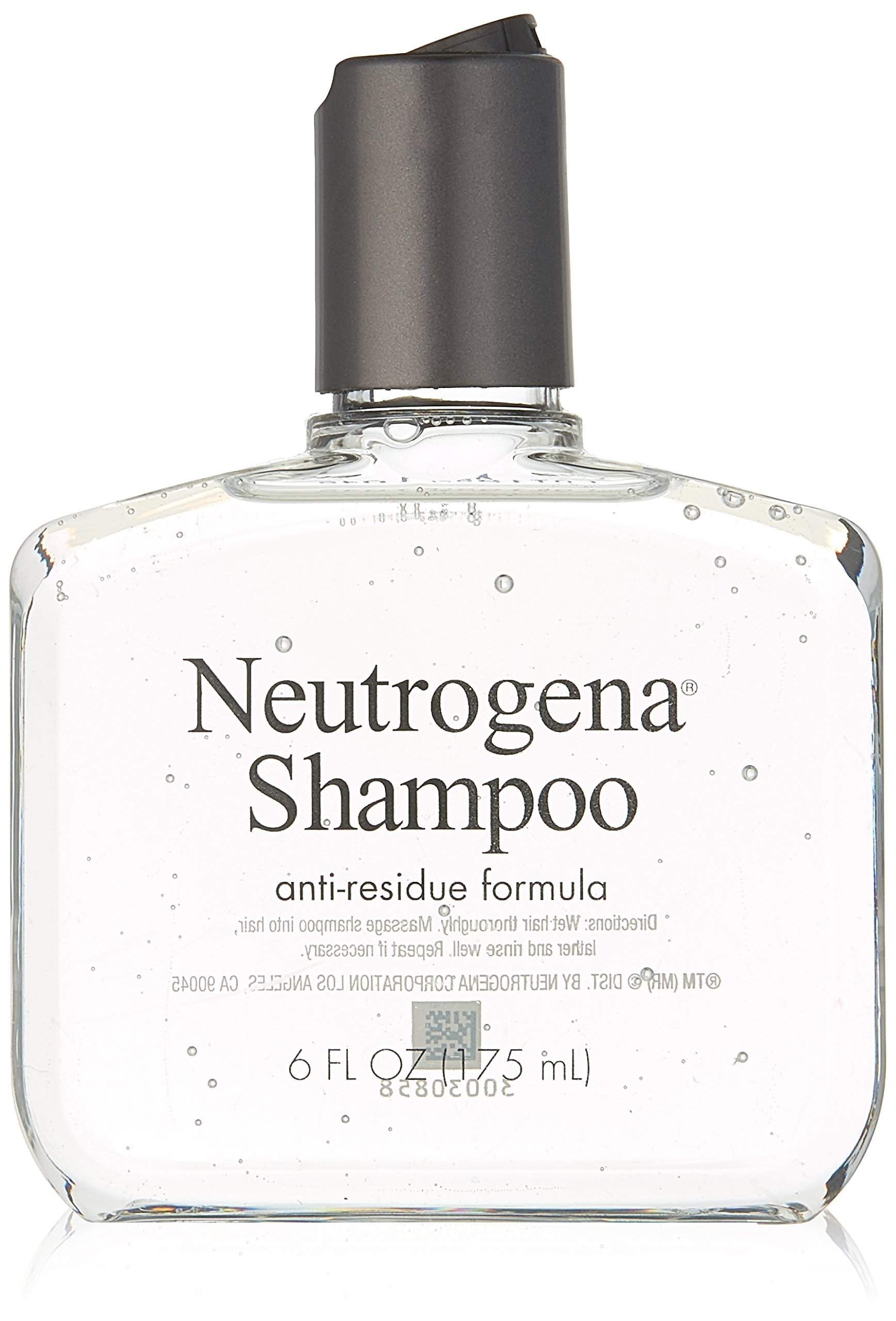 Neutrogena Anti-Residue Shampoo, Gentle Non-Irritating Clarifying Shampoo to Remove Hair Build-Up & Residue, 6 fl. oz (Pack of 2) by Neutrogena