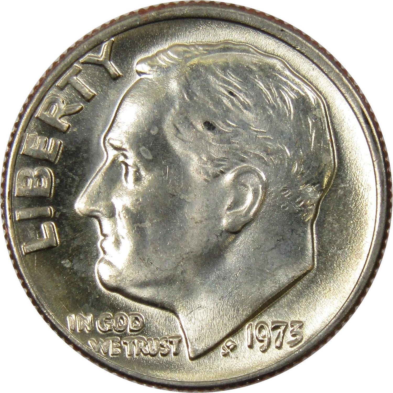 5 Five 1964 Or Earlier 90/% Silver Roosevelt Dimes 10c Coins all GEM BU