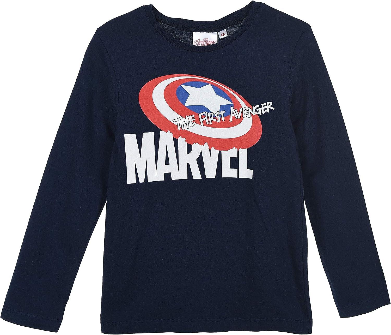Avengers Bambino Maglietta a Maniche Lunga