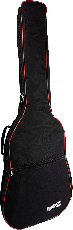Rockburn Delux acolchados guitarra bolsa para guitarras eléctricas - Negro