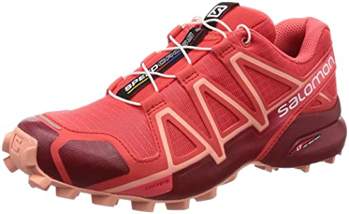 buy online 9652a 8a054 Salomon Women s Speedcross 4 Trail Running Shoes  Amazon.co.uk  Shoes   Bags