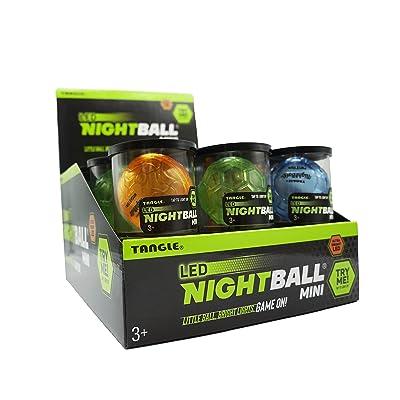 Nightball Tangle Sportz Matrix Mini Collection - Blue, Green, Orange: Toys & Games