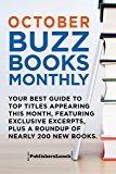 October Buzz Books Monthly: Your Best Guide to Top Titles Appearing This Month