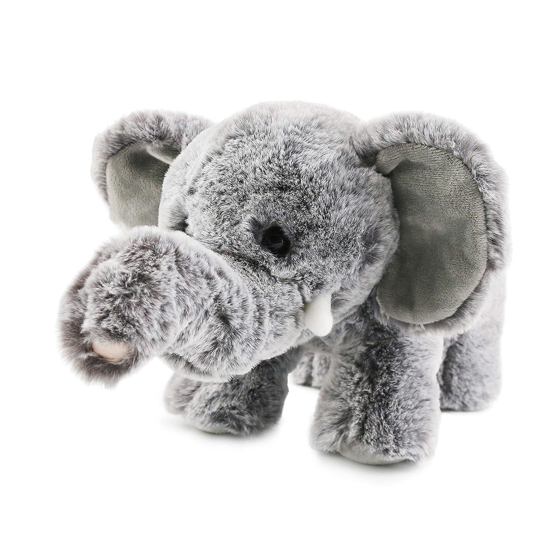 Amazon Com Houwsbaby Realistic Small Elephant Stuffed Animal