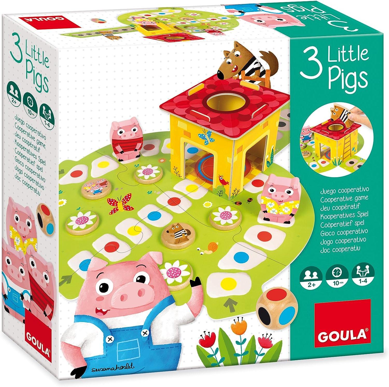 Goula- Juego Los 3 cerditos (53146): Amazon.es: Juguetes y juegos