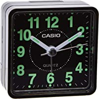Casio TQ-140-1DF Alarm Clock, Black