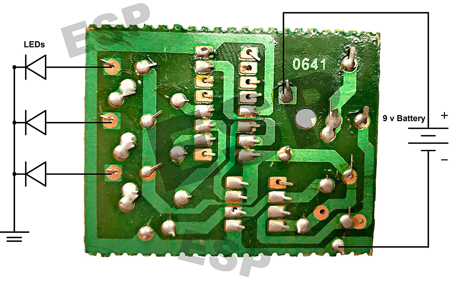 Led Chaser Circuit 3 Outputs Running Light Decad This Schematic Uses The 555 Timer And 4017 Ic To Drive Counter For Electronic Projects Cd4017 Industrial
