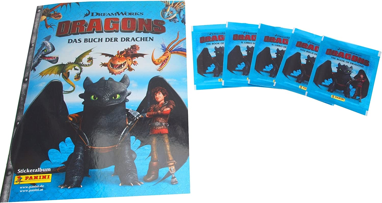 Le livre des dragons-Sticker 28 PANINI-DRAGONS