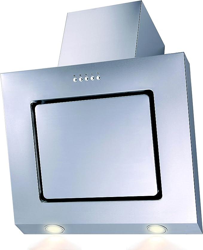 SH60 de IX Campana extractora acero inoxidable LED borde de aspiración 60 cm oblicuo: Amazon.es: Grandes electrodomésticos