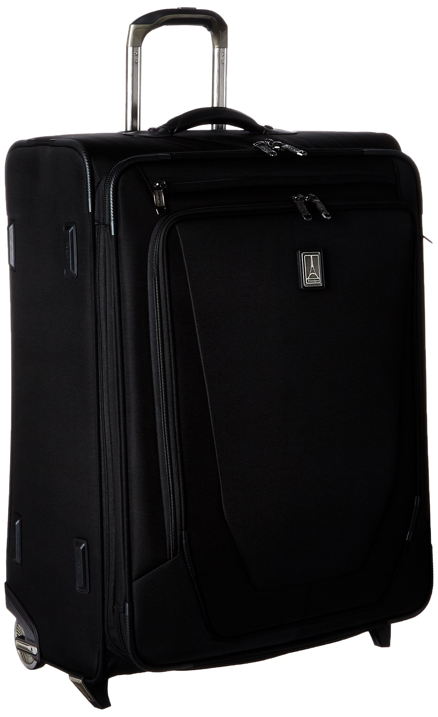 Travelpro Crew 11 Expandable Rollaboard Wheeled Suiter Suitcase, Black by Travelpro (Image #6)