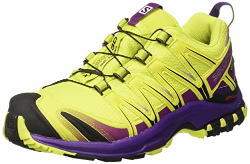 new concept 1f20d 6e6d4 Salomon Women s s Xa Pro 3D GTX Trail Running Shoes Multicolor (Lime  Punch gape Juice
