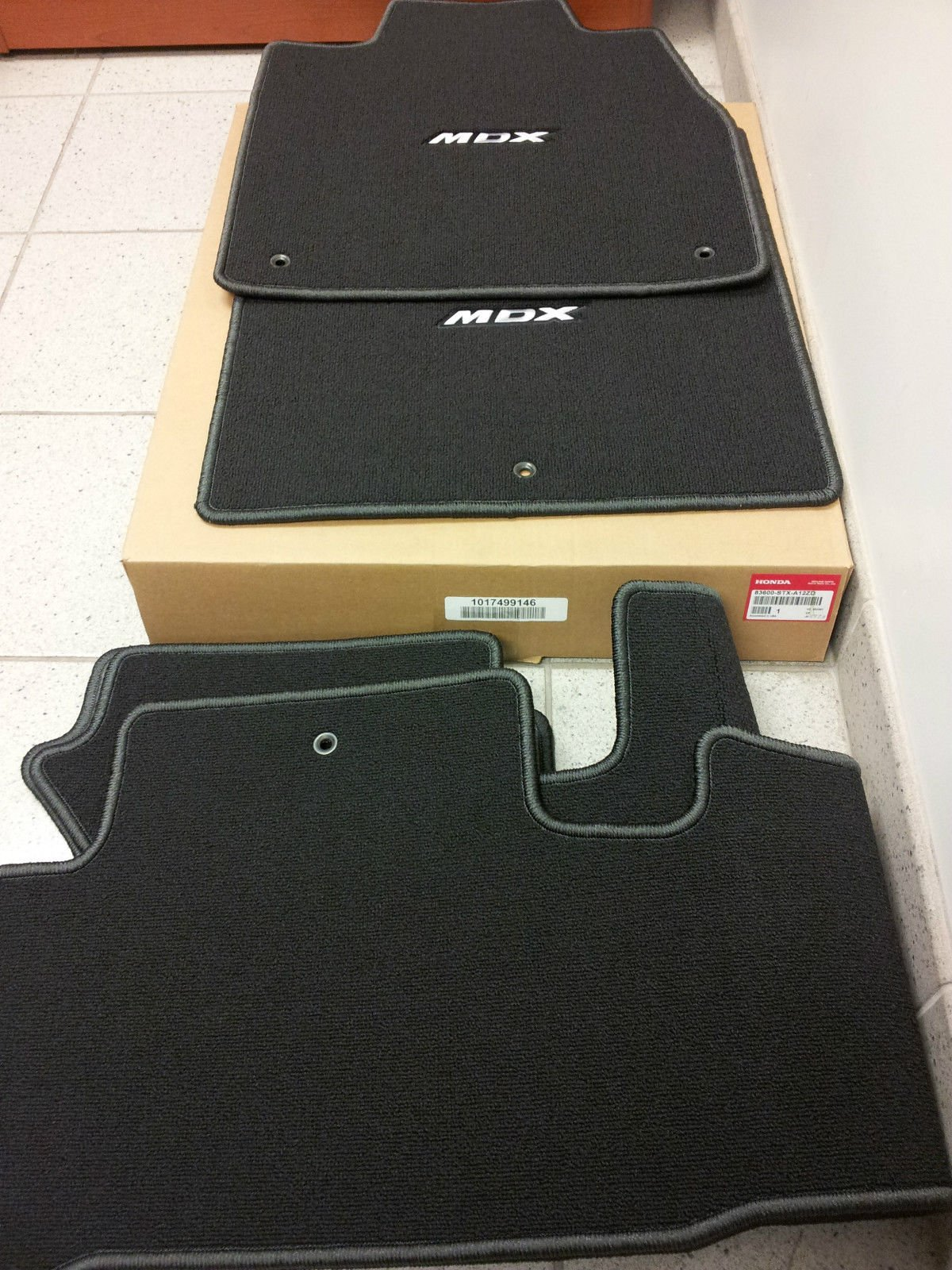 Acura Genuine Floor Mat 83600-STX-A12ZC
